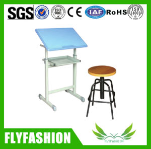 Classroom Furniture Student Desk and Chair for Sale (SF-50SS) pictures & photos