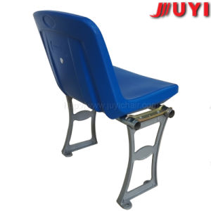 Blm-1317 Eco HDPE Folding Stadium Chair with Armrest pictures & photos