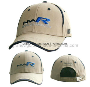 Custom Cotton Golf Cap with Adjustable Brass Buckle pictures & photos