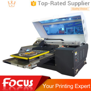 Bulk T Shirt Printing Machine T-Shirt Printer with Double Heads pictures & photos