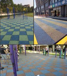 China Playground Rubber Flooring Playground Rubber Flooring - Spongy outdoor flooring