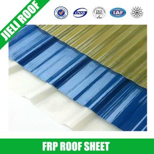 Semitransparent Corrugated FRP Roofing Sheets pictures & photos