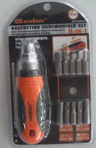 8 in 1 Ratchet Screwdriver Set pictures & photos