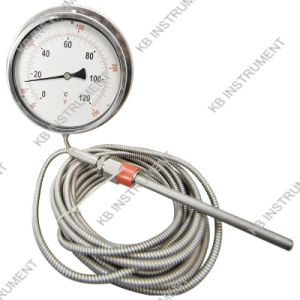 "4""Dial Thermometer for Remote Reading pictures & photos"
