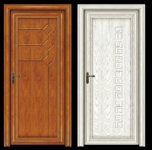 High Quality Aluminum Wood Door (CL-D2017) pictures & photos