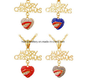 Christmas Jewelry/Christmas Necklace/Christmas Pendants (XJW13343) pictures & photos