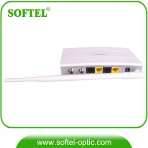 Gpon WiFi Eoc Master Slave with CATV Coaxial Line Interface pictures & photos