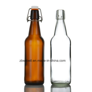 Flip Cap Glass Beer Bottles with 1000ml (1L) , 750ml, 500ml, 330ml pictures & photos