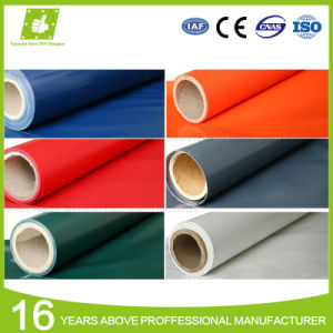 Factory Supplier Waterproof Flame Retardant Polyester Fabric PVC Tarpaulin Roll