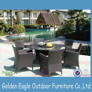 Brand Rattan Outdoor Furniture Golden Eagle Garden Table Set