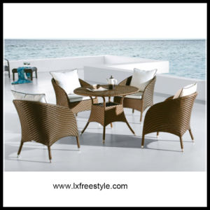 SGS Pass Rattan Dining Table and Chair (DS-205)