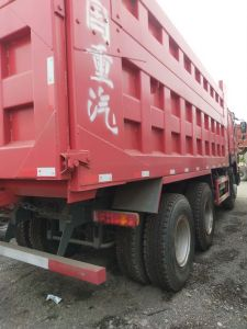 Shacman 25 Ton Dump Truck With 10 Wheels Export To Arabic