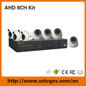 Comet 720p/960h High Definition 8CH Ahd DVR Kit with Bullet Dome Camera