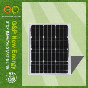 50W Monocrystalline Solar Panel for Small System pictures & photos