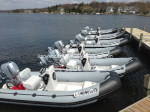 Liya 4m-6m Inflatable Rescue Boat Sailing Boat Yacht Open Rib Boat Dinghy pictures & photos