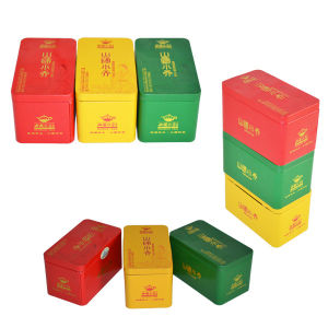 Series Tea Packaging Tin Box From Tea Tin Box Supplier