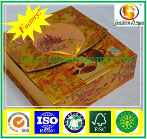 350GSM gold paper metalized shiny gold foil cardboard pictures & photos