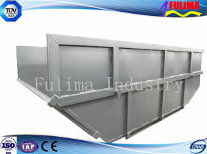 Custom Painted or Galvanized Skip Bin/Bin with Covers for Waste Transfer Stations (SD-001) pictures & photos