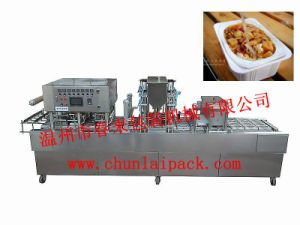 Automatic Rice Box Filling Sealing Machine pictures & photos