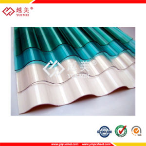 Lexan Polycarbonate Roof Material Corrugated Polycarbonate Sheet pictures & photos