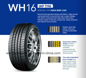 225/45r17 Car Tire, Passenger Car Tire with DOT