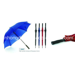 Manual Open Straight Rain and Sun Golf Umbrella (YSGO0001)