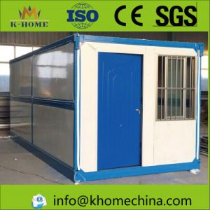 Mobile House Folding Container House for Earthquake Refugees pictures & photos