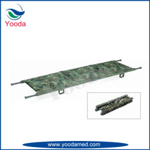 Aluminum Alloy Folding Emergency Stretcher pictures & photos