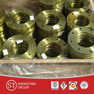 DIN Carbon Steel Plate Flange pictures & photos