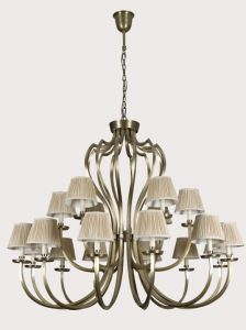 High Quality House Copper Decoration Chandelier (0967)
