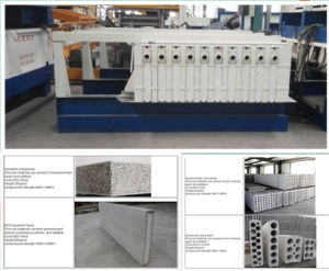 Precast Foamed Sandwich Wall Panel Making Machine pictures & photos