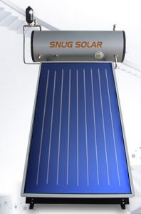 Flat Solar Collector Water Heater with CE Certificate pictures & photos