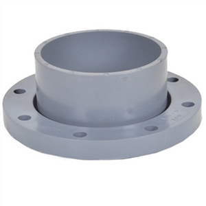 PVC Two Pieces Flange for Butterfly Valve pictures & photos