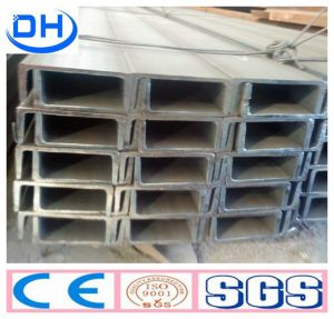 Hot Rolled U Channel Steel for Construction in China Q235 pictures & photos