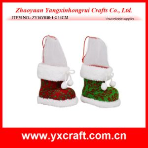 Christmas Decoration (ZY16Y030-1-2 14CM) Classic Christmas Stripe pictures & photos