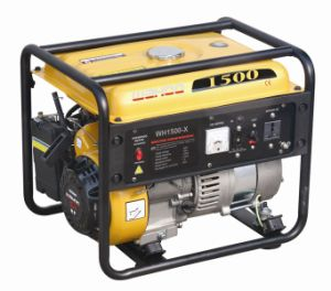 CE Approved 1000W Gasoline Generator with 2.6HP Engine (WH1500-X) pictures & photos