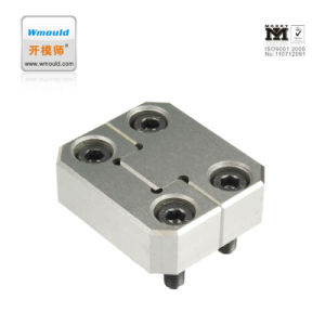 Standard Mould Parts High Quality Plastic Injection Square Interlocks pictures & photos