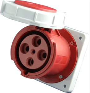 125A 3p+E IP67 Industrial Socket (MN5432)