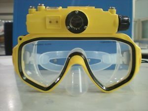 Underwater Digital Camera Diving Mask Waterproof DV 5.0 MP (HC1117)
