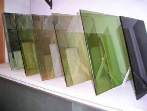 5.5mm Tinted Dark Green Refletive Glass for Building