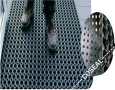 Five Colors of SBR+Neoprene Rubber Mat for Door