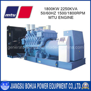 2250kVA China Factory Big Power Mtu Diesel Generator Set