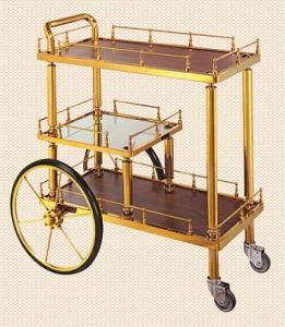 The Royal Liquor Trolley (Superficial with Red Mahogany) pictures & photos