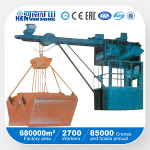 Lz Type 3-5t Single Beam Grab Crane with Operation Room pictures & photos