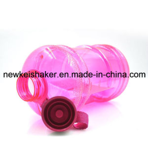 New Protein Bottle Shaker Multicolors Gym Sports 2.2L Water Bottles pictures & photos
