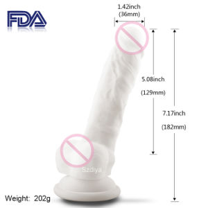 Good Masturbation Helper Private Pleaser Dildo Massager (DYAST412SA-W) pictures & photos