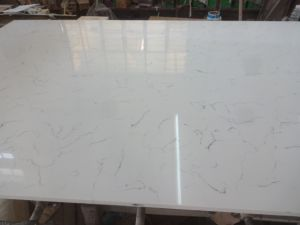 Engineered Stone Quartz Slab for Kitchen Countertops (171213) pictures & photos