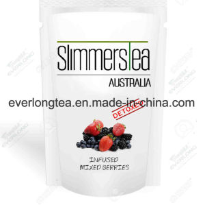100% Organic Herbal Detox Tea Slimming Tea Weight Loss Tea Slimmers Tea (Strawberry and Mango Flavor) pictures & photos