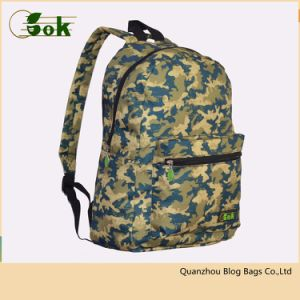 Personalised Camo Backpack College School Book Bags With Custom Logo