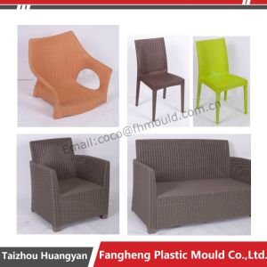 Plastic Injection Outdoor Garden Rattan Furniture Sofa Set Mold